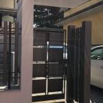 cancelletto-pedonale-ferro-verniciato-scatole-quadrato-moderno-design-azzate-varese-1a