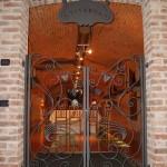 cancello-cancelletto-pedonale-portone-ingresso-due-ante-battenti-ferro-battuto-verniciato-personalizzato-unico-design-azzate-varese-1a