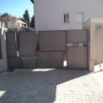 cancello-carraio-anta-battente-certificato-ferro-grezzo-cantiere-scatole-quadrato-moderno-design-azzate-varese-como-milano-canton-ticino-svizzera-2d