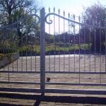 cancello-carraio-due-ante-battenti-certificato-ferro-zincato-inserti-verticali-classico-design-azzate-varese-1a