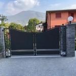 Cancello A Due Ante Battenti.La Metal Design Cancelli