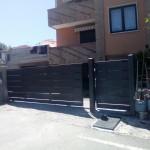 cancello-carraio-scorrevole-certificato-cancelletto-pedonale-ferro-verniciato-doghe-medie-orizzontali-moderno-design-azzate-varese-1b