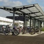 ciclopark-tettoia-copertura-a-sbalzo-posto-bici-moto-motocicli-plexiglas-alveolare-certificata-tuv-carico-neve-design-azzate-varese-1