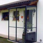 tettoia-bussola-ferro-vetro-copertura-entrata-design-azzate-varese-1